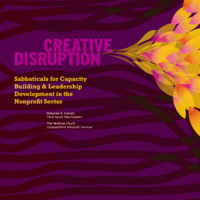 cover for Creative Disruption, Durfee