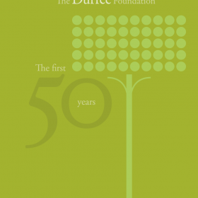 e Foundation&#039;s 50th Anniversary book cover