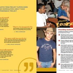 spread from Mpowerment training manual