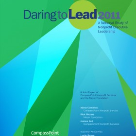 "Cover of ""Daring to Lead 2011"" report"