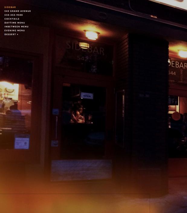 Sidebar homepage