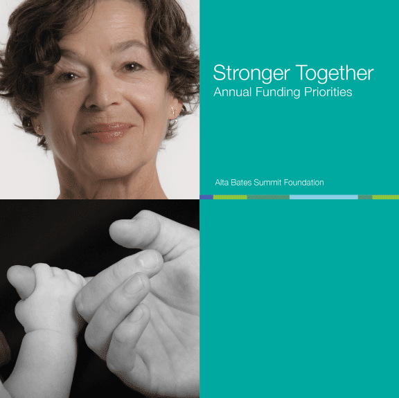 Cover of ABSF Stronger Together booklet