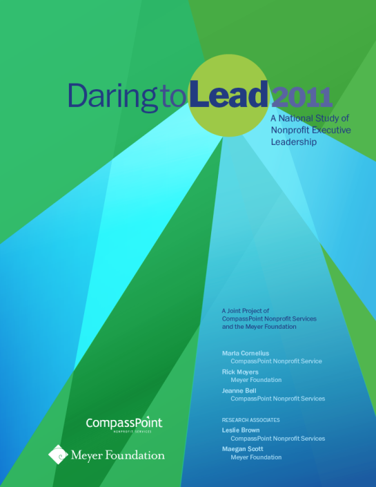 Daring to Lead cover