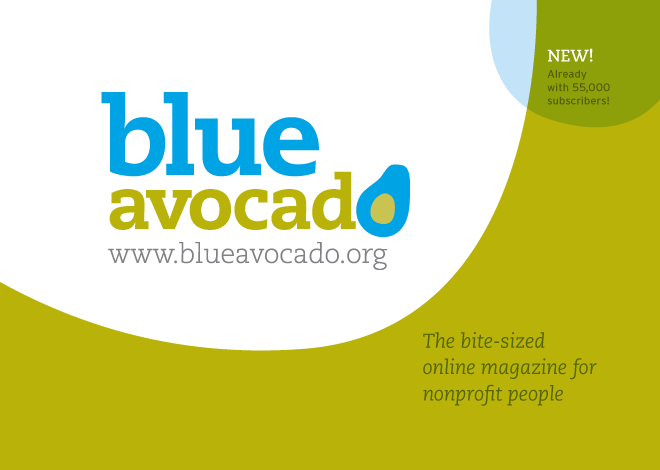 BlueAvocado postcard