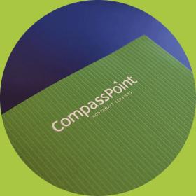 detail photo of CompassPoint report folder