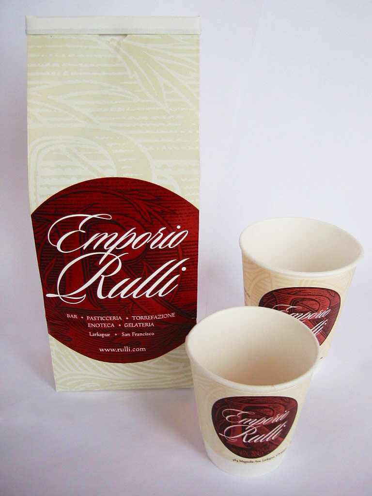 Rulli coffee packaging
