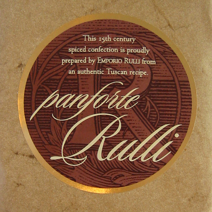 Rulli panforte label